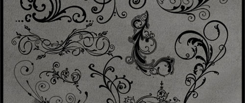 Decorations Brushes for Photoshop