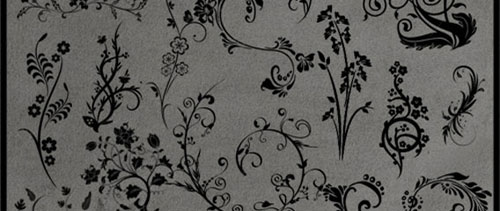 Floral Deco Brushes for Photoshop