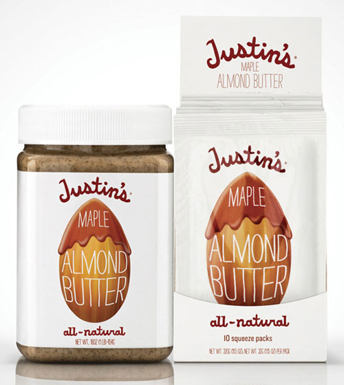 Justin's Nut Butter package design