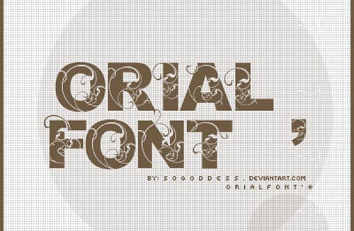 Download Orial free font