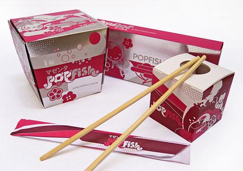 Popfish package design