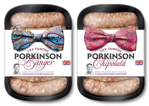 Porkinson package design