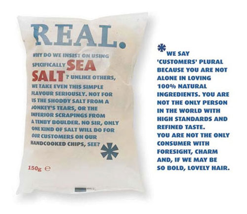 REAL Chips package design