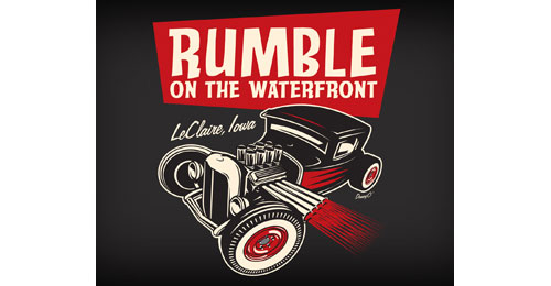 Rumble on the Waterfront logo