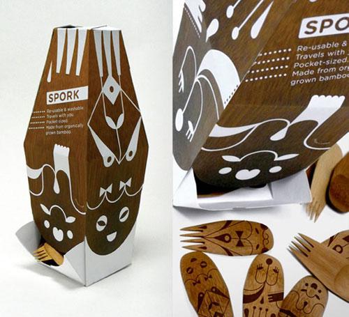 Spork package design