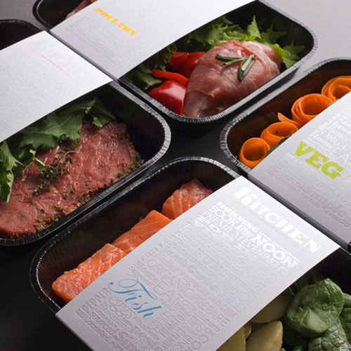 The Kitchen package design