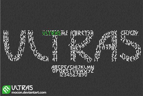 Download Ultras free font