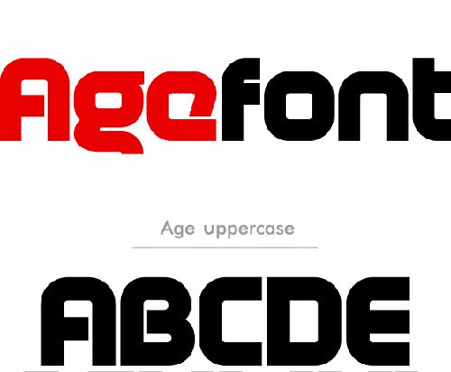 Download age free font