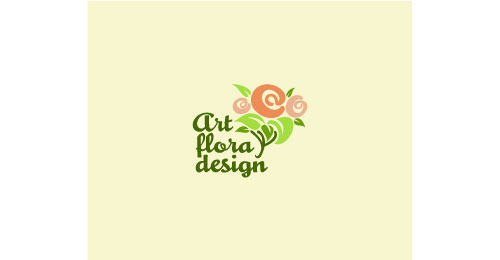 art flora design logo