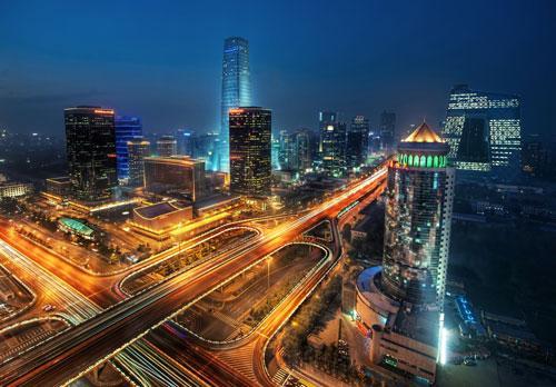 Bustling Beijing photography