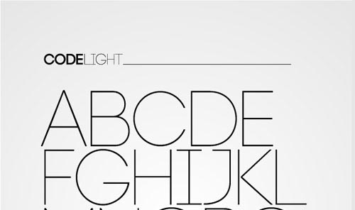 Download code free font