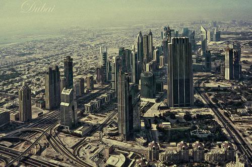 Trade Center Dubai photography