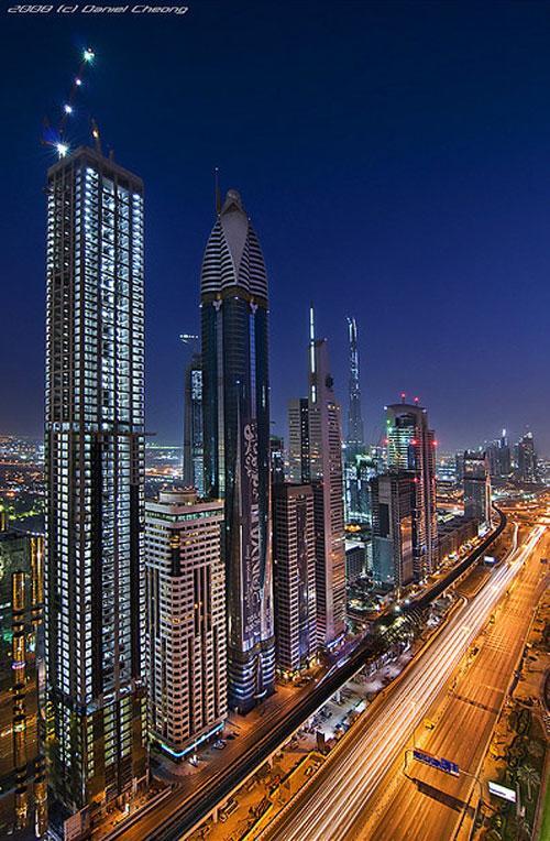 The Veins of Dubai #2 photography
