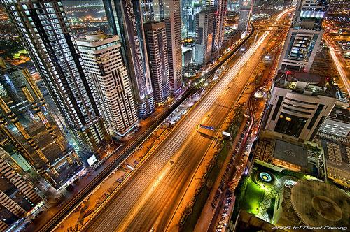 The Veins of Dubai #1 photography