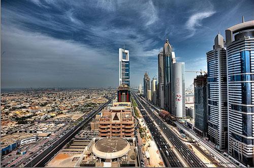 E11 SZR Dubai UAE photography