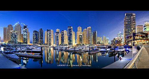 Dubai Marina Yatch Club :: DRI Panorama photography