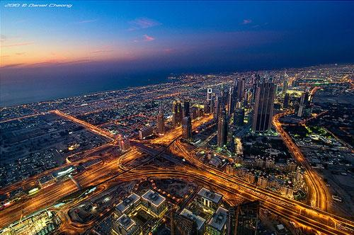 View from The Top - The Veins of Dubai photography