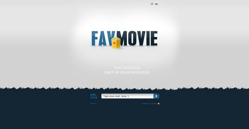 favmovie.net launching soon page design