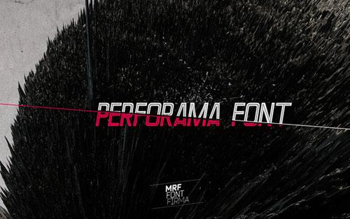 Download Performa free font