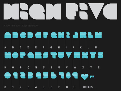 Download High Five free font