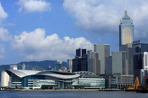 Hong Kong Convention and Exhibition Centre photography
