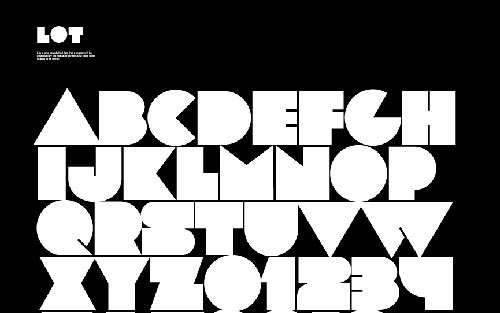 Download lot free font