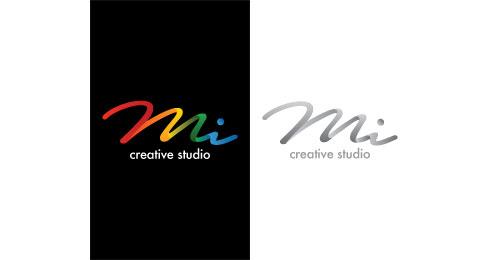 mi creative studio logo