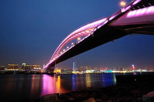 LuPu Bridge in Shanghai photography