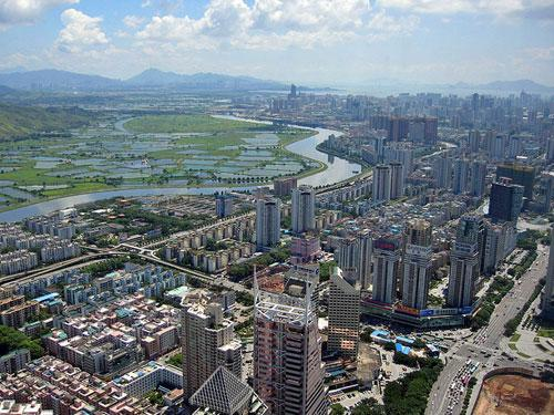 Shenzhen River photography