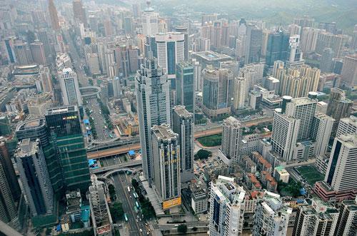 Shenzhen Skyline photography