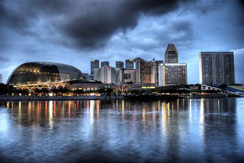 SINGAPORE skyline 2 photography