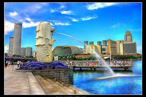 SINGAPORE DAY MERLION photography