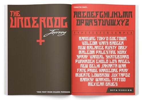 Download The Underdog Journey free font