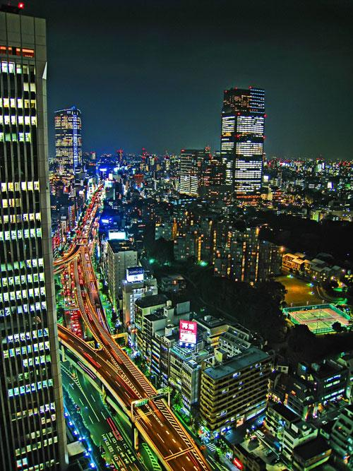 Tokyo Midtown architecture photography