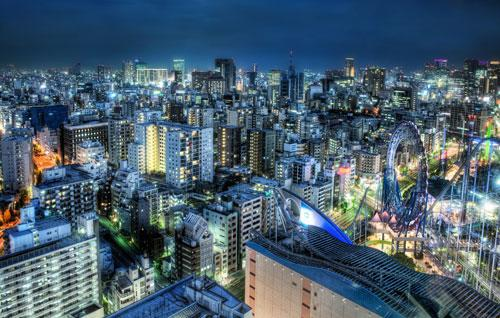 Tokyo at Dusk - Blade Runner Extreme photography