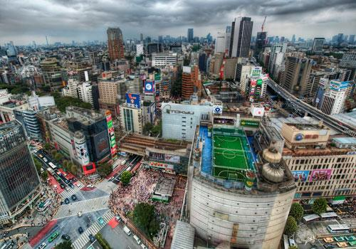 Tokyo from the Air photography