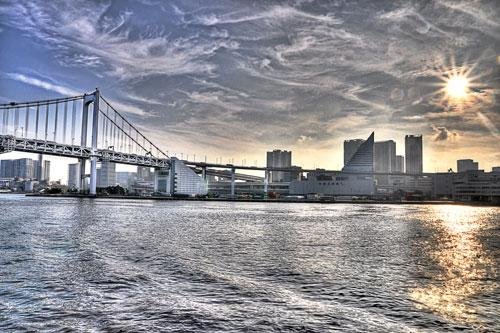 TOdaiba Bridge, Tokyo photography