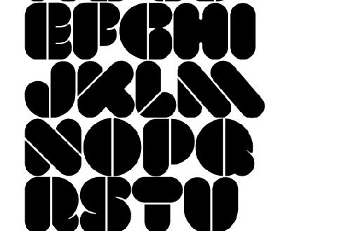 Download Val Stencil free font