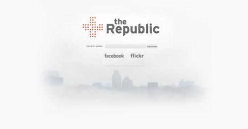 wearetherepublic.org launching soon page design