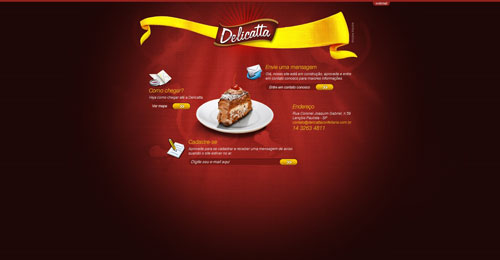 delicattaconfeitaria.com.br launching soon page design