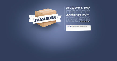 fanabook.com launching soon page design