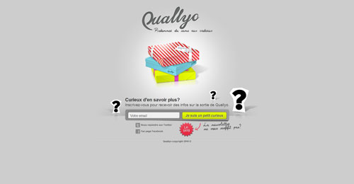 quallyo.com launching soon page design