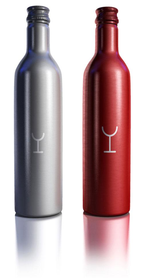 A. Dean Wine Denmark Aluminum Based Package Design
