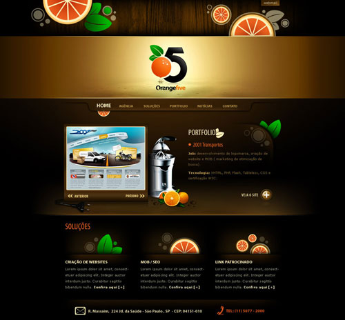 38 Sites With Interesting CSS And Flash Menu Designs 23
