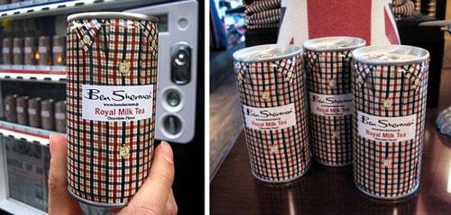Ben Sherman Royal Milk Tea Aluminum Based Package Design