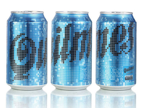 Cerveza Quilmes Aluminum Based Package Design