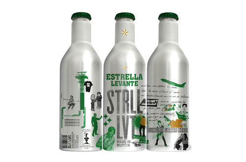 Estrella Levante Aluminum Based Package Design