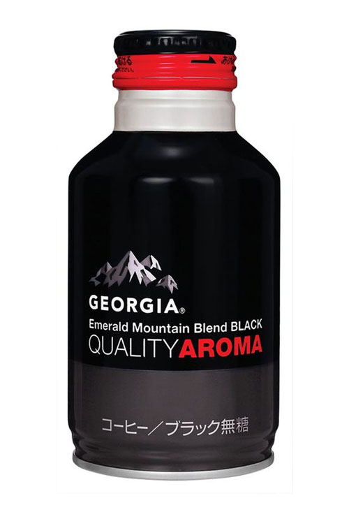 Georgia Coffee Aluminum Based Package Design