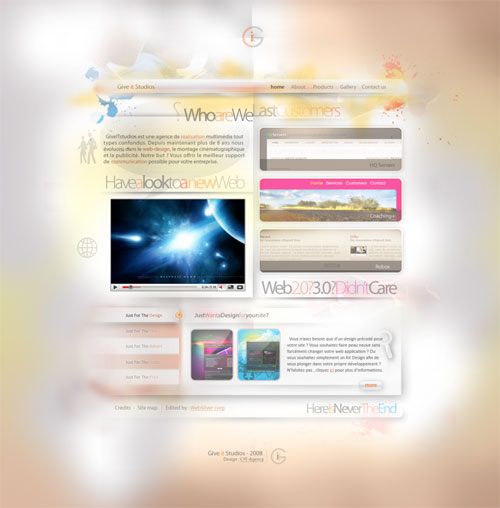 38 Sites With Interesting CSS And Flash Menu Designs 30