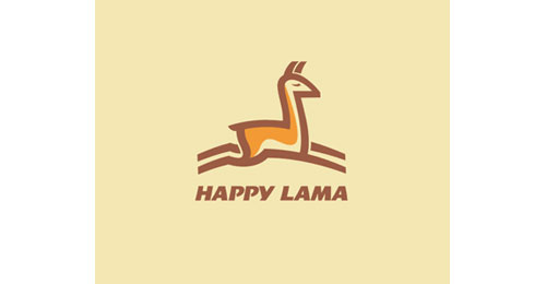 Happy Lama logo